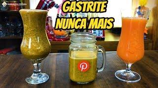 Acabe com a Gastrite com esses 3 Sucos Natural