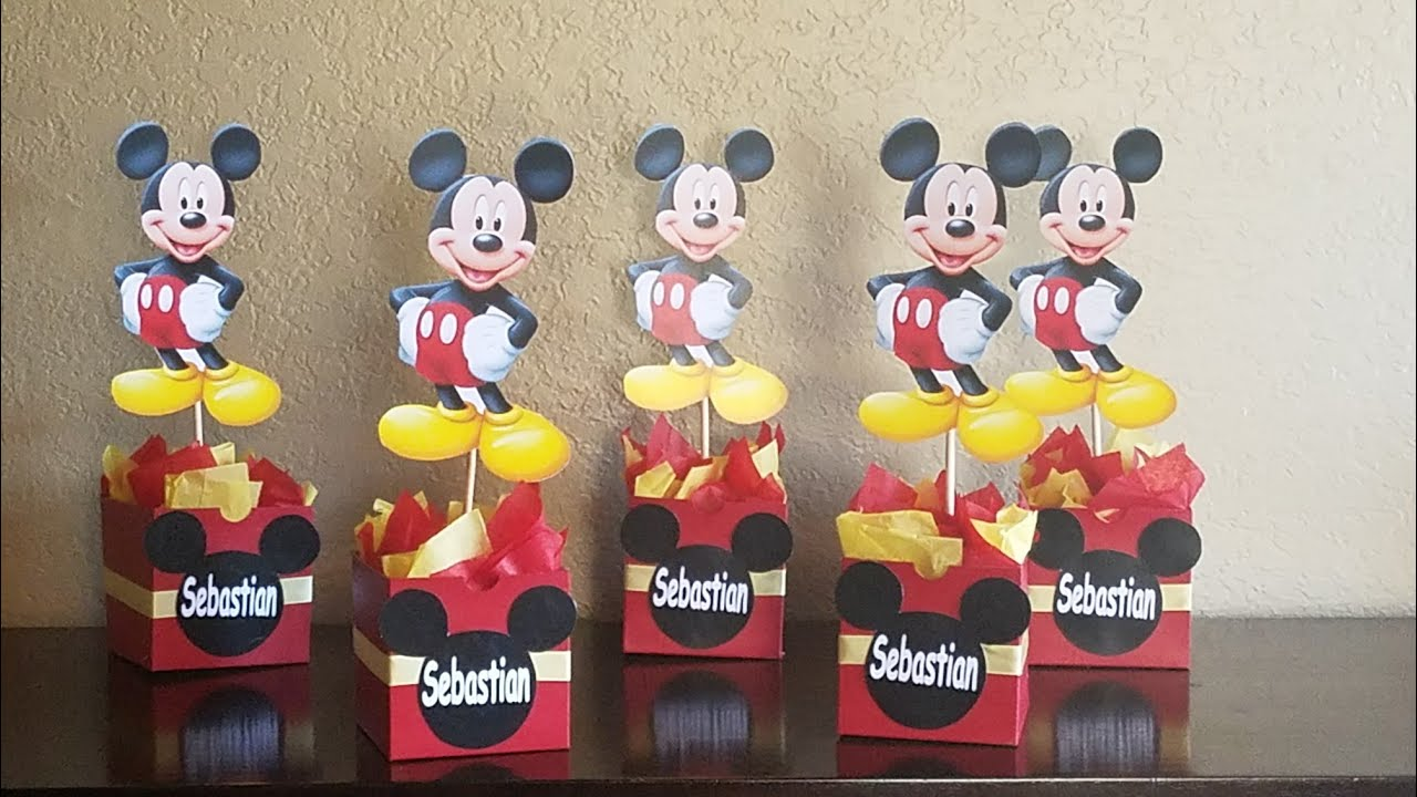 1 mouse inspired centerpiece