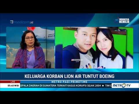 Gugatan Keluarga Korban Lion Air Atas Boeing