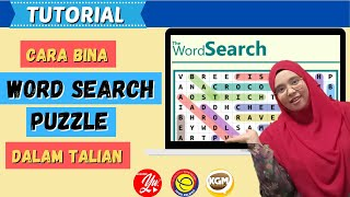TUTORIAL WORD SEARCH PUZZLE screenshot 3