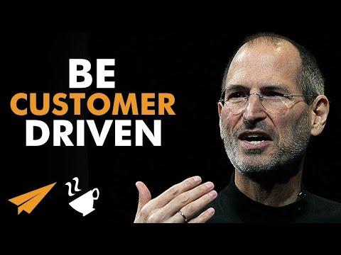 """Be CUSTOMER Driven!"" | Steve Jobs | #Entspresso"