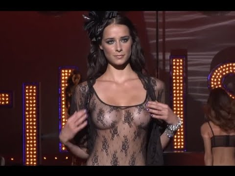 Fashion Lingerie show Lise Charmel at Salon de la Lingerie Paris Full  HD 1177bf88b