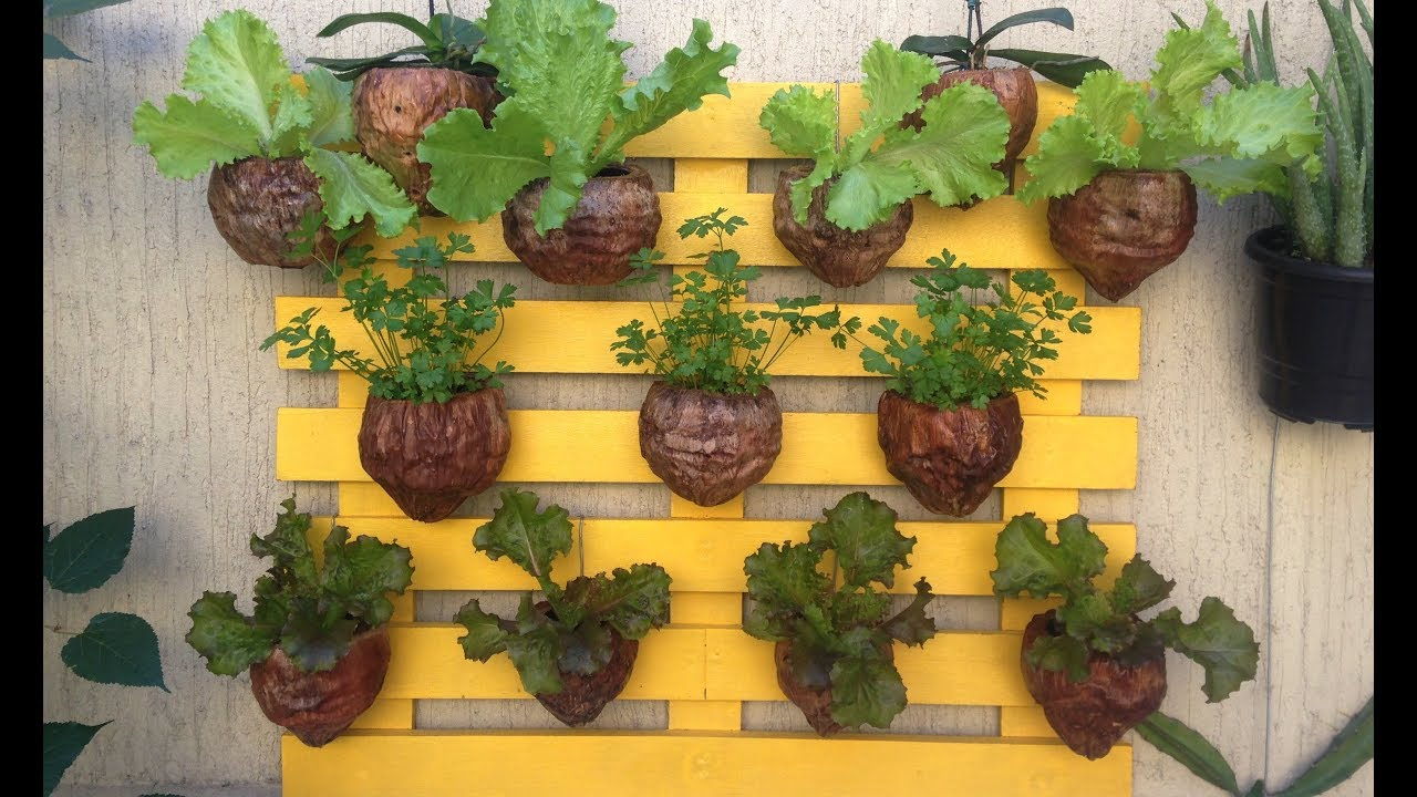 diy vertical wall garden
