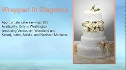Wedding cakes from Safeway