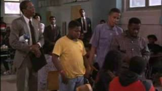 Lean On Me Movie Scene: Cafeteria Chaos Scene