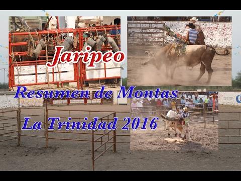 Selecciòn de montas Jaripeo de la trinidad 2016