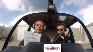 Robinson R-44 Startup - How To Start