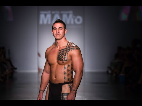 Hawaiian Airlines presents MAMo Wearable Art Fashion Show at HONOLULU Fashion Week, Nov. 8, 2014