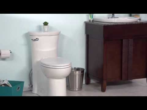 Toilets: Tropic Right Height Elongated Toilet By American Standard