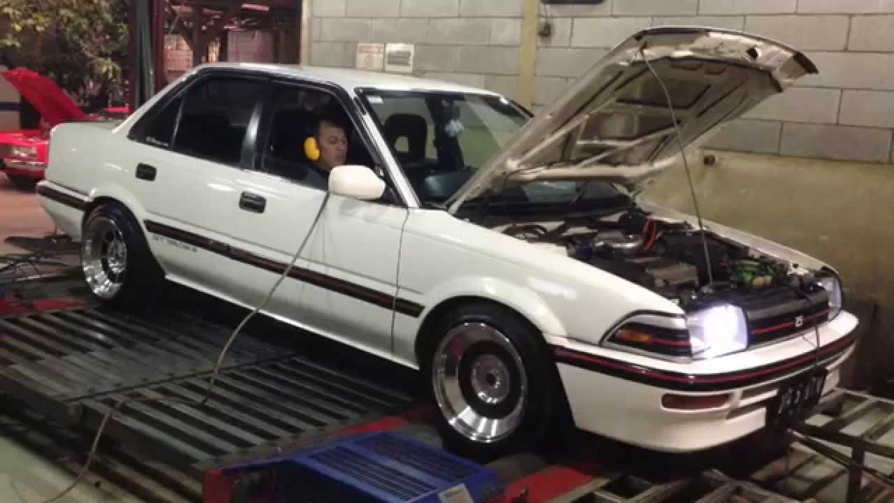 Dyno tuning Haltech PS500 - Toyota Corolla AE92 4A-GZE 1 ...