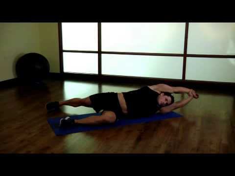 Side Lying Floor Stretch - YouTube