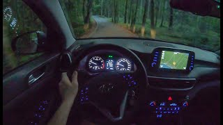 Hyundai Tucson Night | 4K POV Test Drive #290 Joe Black