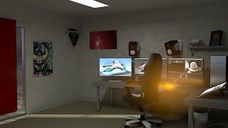 Photo Realistic Room Render Timelapse