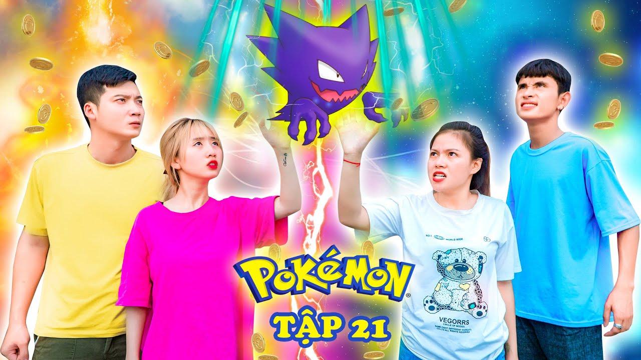 Mượn Gió Bẻ Măng - Nhóm Huấn Luyện Viên Bị Lợi Dụng Thả Pokemon Ghost - Pokemon Tập 21 - Phim Táo TV