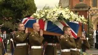 Fallen troops welcomed back to UK