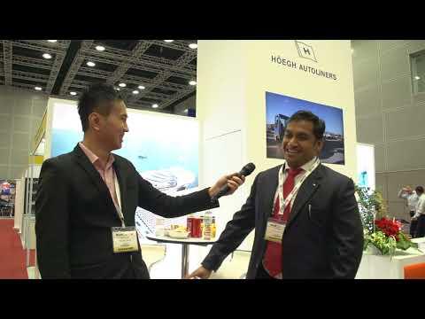 Höegh Autoliners AS at Breakbulk Southeast Asia 2017