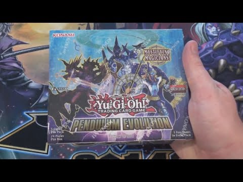 Yugioh Pendulum Evolution Unboxing - All Holos Pendulum Magicians & Reprints!