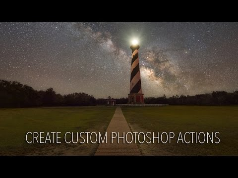 Create a Photoshop Action and apply it to multiple images!