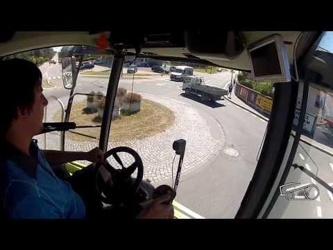 Claas Lexion 580 - poslední jízda