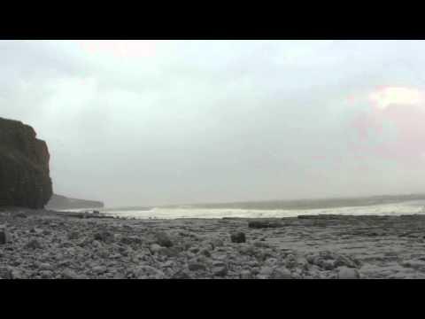 Storm Imogen - Llantwit Major Beach, South Wales 08/02/2016