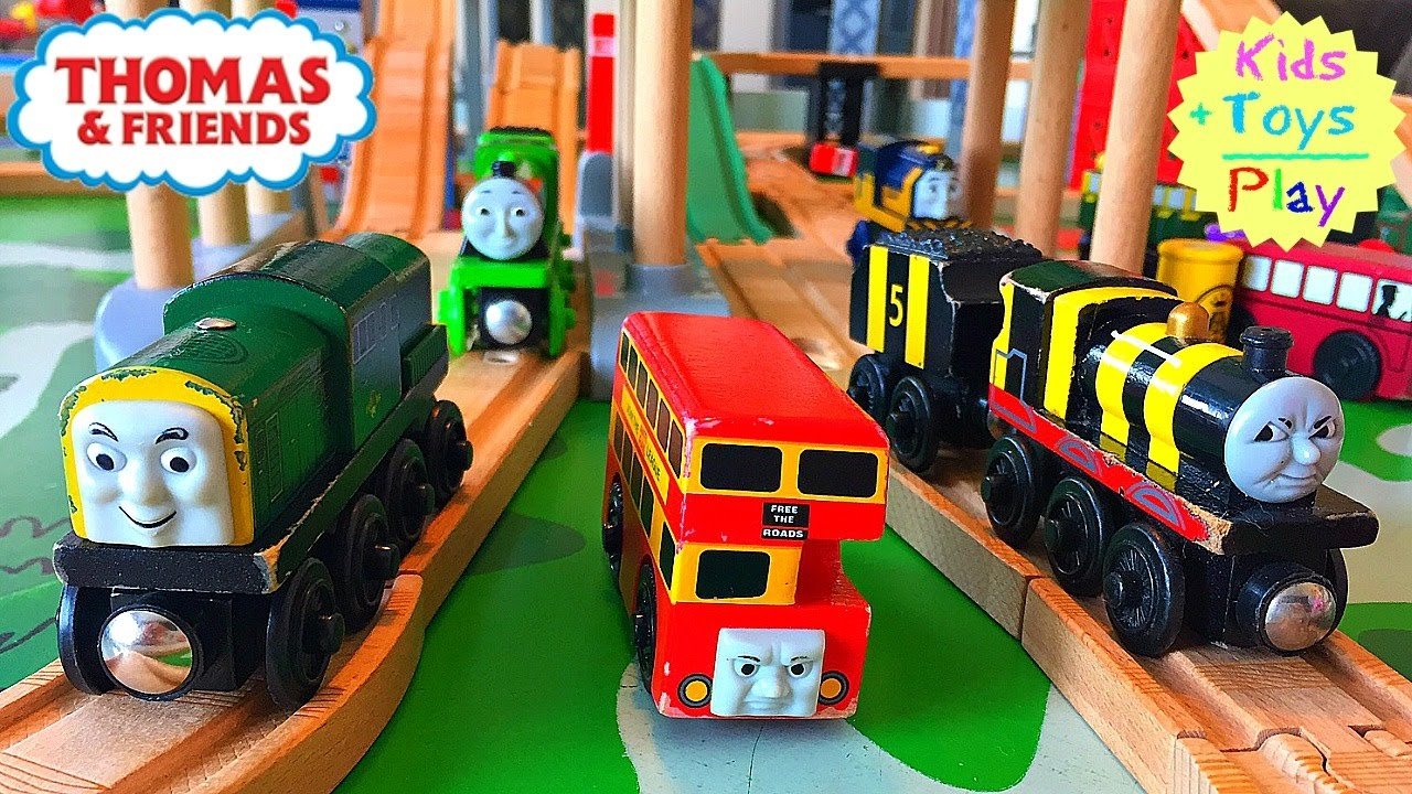 Thomas And Friends Wooden Play Table Busy Bee James Playtime
