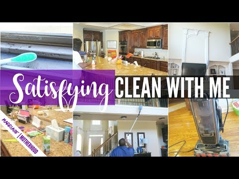 Ultimate CLEAN WITH ME 2018 🏠 Power Hour Cleaning 🍽️ Cleaning Motivation