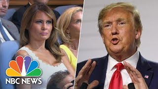President Donald Trump Claims First Lady Has 'Gotten To Know' Kim Jong Un | NBC News