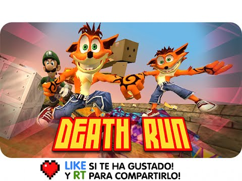 DEATHRUN RISA INFINITA ! | Exo, Sarinha, Gona y Luh en Garrys Mod Death Run