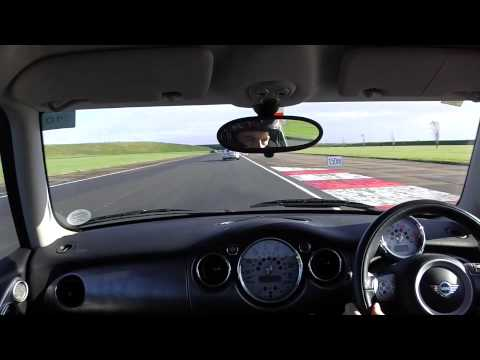 R53 BMW Mini Cooper S Bedford Autodrome GT circuit trackday 1st Nov 2014