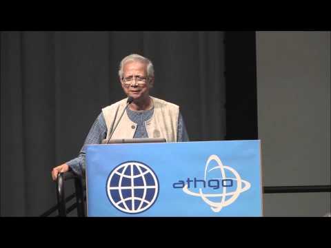 Dr. Muhammad Yunus at Athgo's Innovation Forum