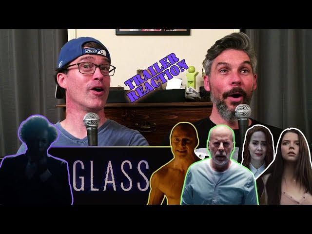 Glass Official Trailer REACTION!!!