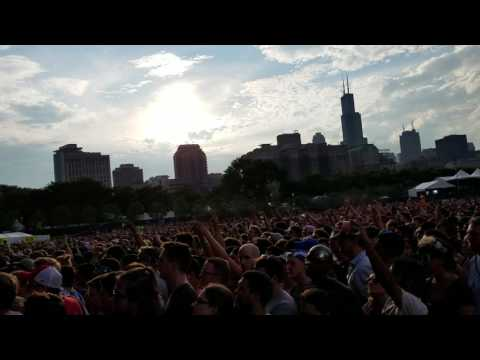 M83 @lollapalooza 2016 Day 2 Midnight city