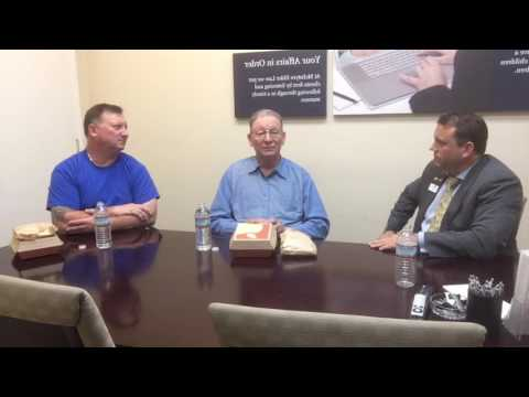 LIVE VIDEO: Lunch with a Veteran: MIchael Carpenter, Marine and Barry Carpenter, Air Force.