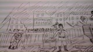 """Рисунок по сериалу """"Слуга народа""""-""""Степан и Мульмангчо"""""""