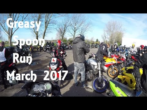 Bournemouth & Poole Bikers Greasy Spoon Run March 2017 | JafnhaarPall