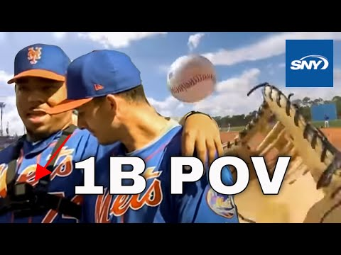 The 1st Baseman's View: Mets prospect Dom Smith wears a camera
