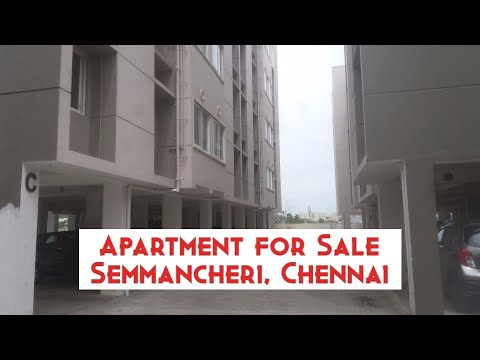 Apartment For Sale At Semmancheri, Chennai | Rs. 28 Lakhs | World New Property