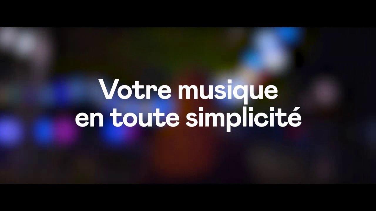 """Musique de la pub Deezer Premium """"votre musique en toute simplicité""""  2021"""