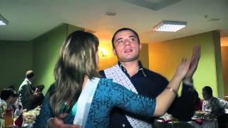 Весёлая свадьба Вадим и Кристина ресторан