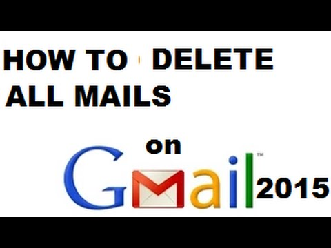 How To Delete All Mail On Gmail In Telugu