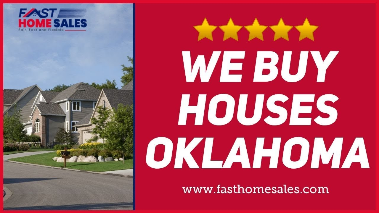 We Buy Houses Oklahoma - CALL 833-814-7355