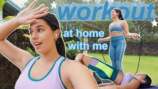 Workout Routine AT HOME *staying motivated & healthy during quarantine*