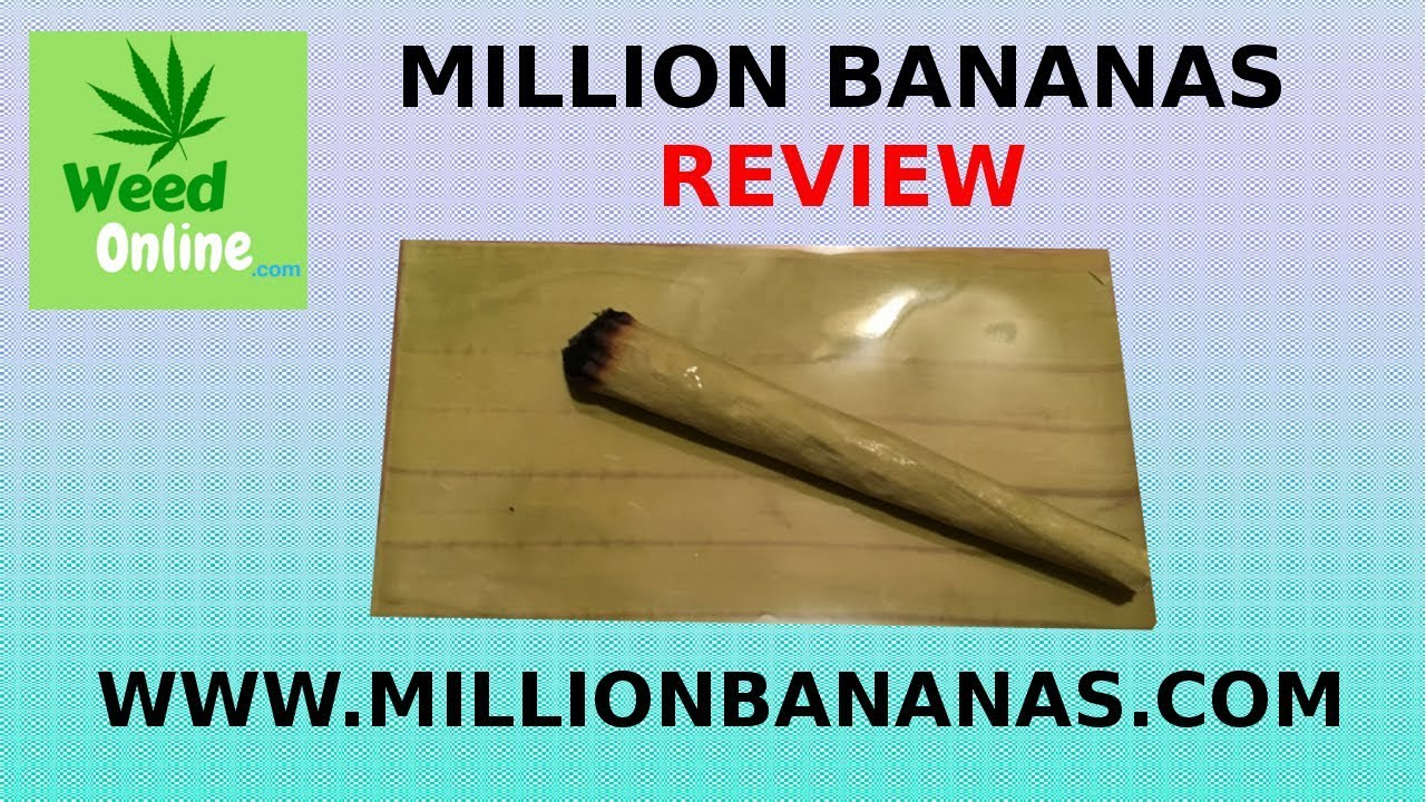 Million Bananas Rolling Paper Review & Smoke Sesh - WeedOnline.com