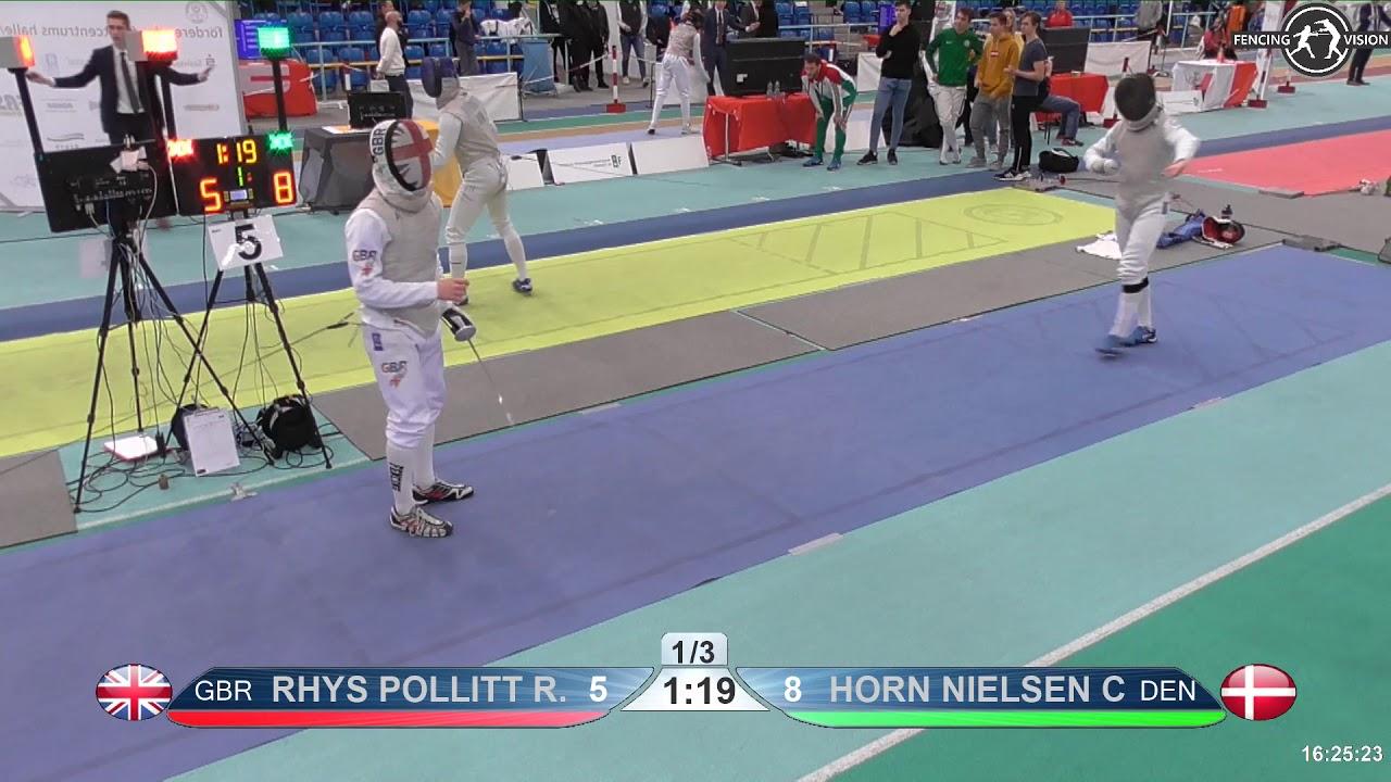 2018 1234 T32 11 M F Individual Halle Ger European Cadet