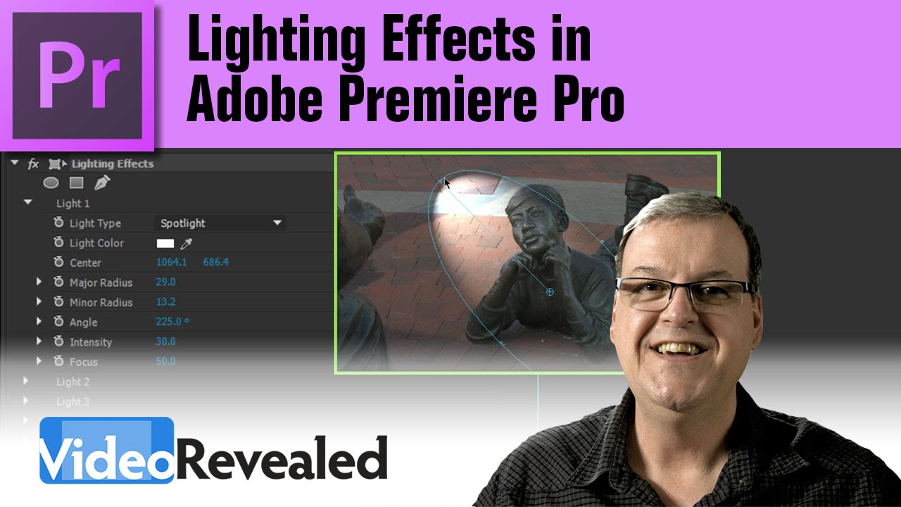 Lighting Effects In Adobe Premiere Pro