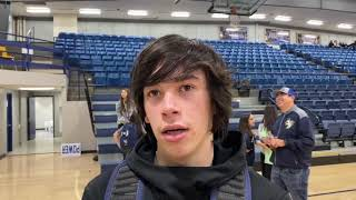 Varsity Boys Basketball: Kingfisher's Cortes talks about his game