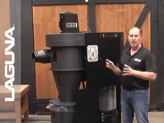P Flux Cyclone Dust Collector Setup and Assembly | Laguna Tools