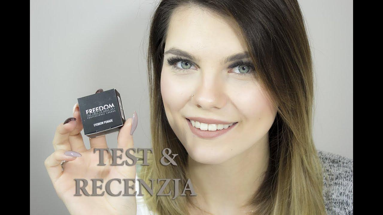 Pomada Do Brwi Freedom Makeup Pierwsze Wrazenie Test Recenzja