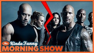 The Rock vs. Vin Diesel Might Ruin Fast 9 - The Kinda Funny Morning Show 04.04.18