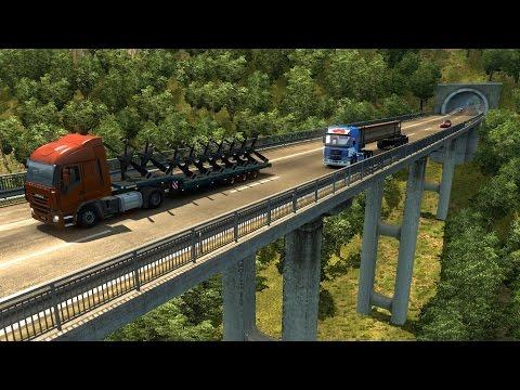 Promods de Italia a Francia | Volvo F16 Intercooler, Puentes y Tuneles
